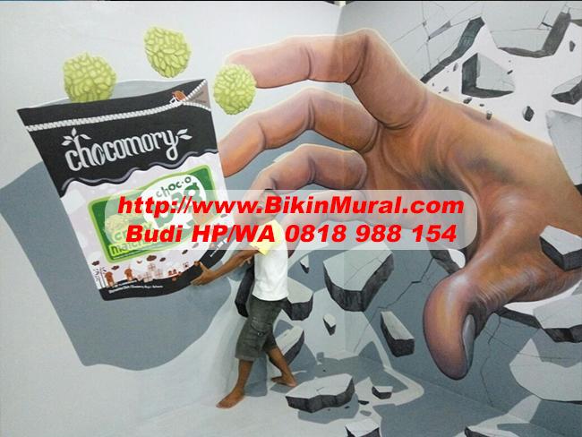 Jasa Mural Cafe di Bontang