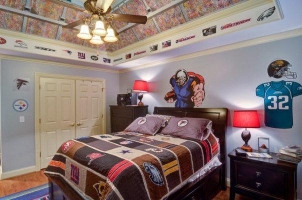 Lukisan Dinding Kamar Anak Muda