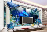 Lukisan Dinding Ruang Tamu 3D