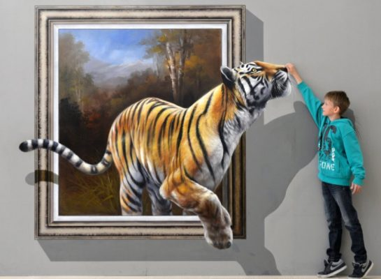 Lukisan Tembok 3 Dimensi