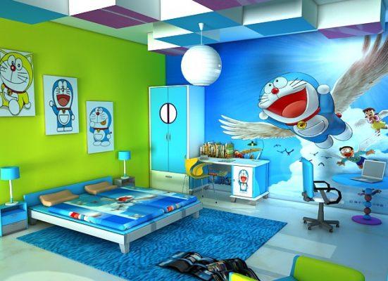 Lukisan Dinding 3D di Kamar