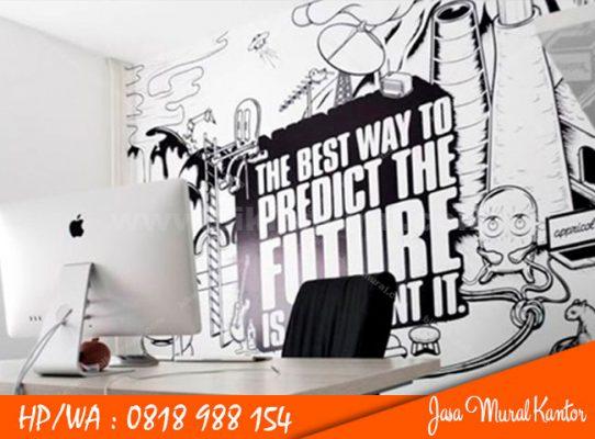 Jasa Mural Kantor di Medan