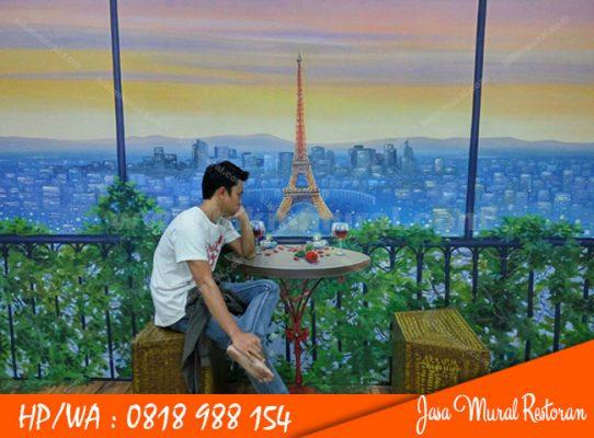 Jasa Mural Restoran di Medan
