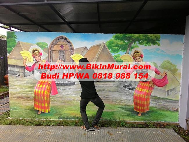 Jasa Lukis Dinding di Makassar
