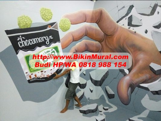 Jasa Mural Cafe di Palembang
