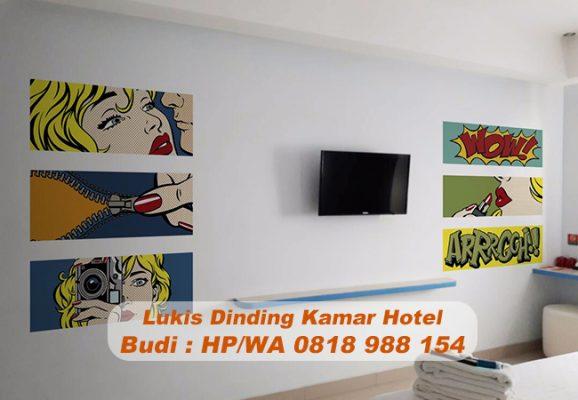 Jasa Lukis Dinding Kamar Hotel