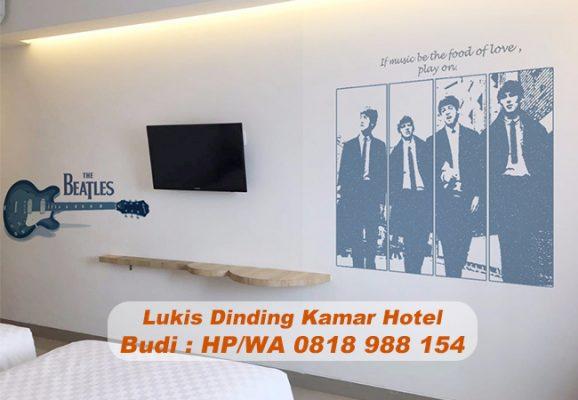 Lukis Dinding Kamar Hotel