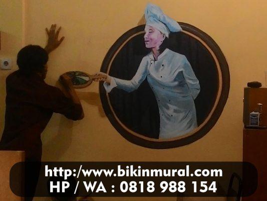 Jasa Mural Cafe Keren