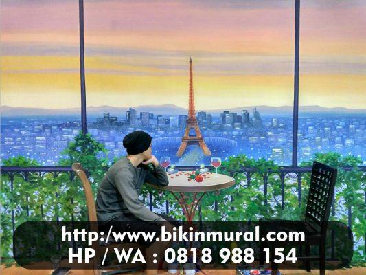 Jasa Mural Cafe Murah