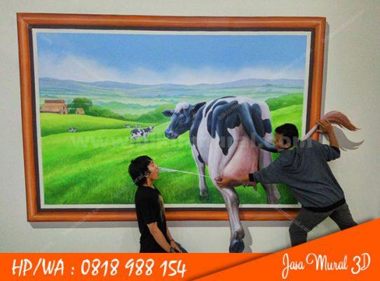 Jasa Mural 3D Surabaya