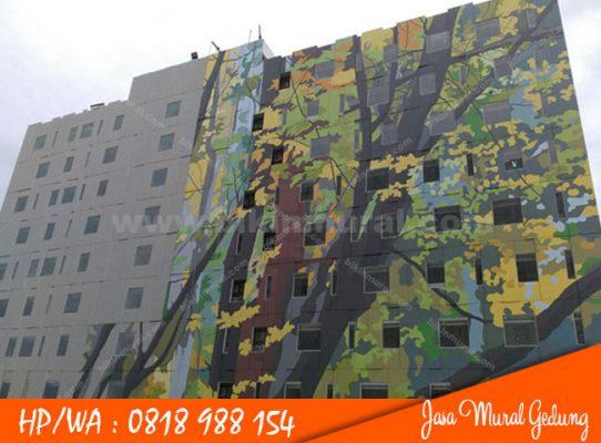 Jasa Mural Gedung Surabaya