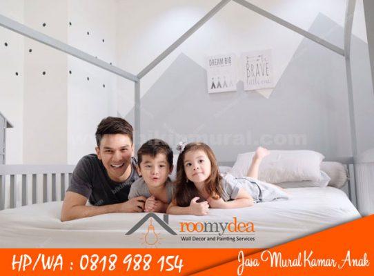 Jasa Mural Kamar Anak Surabaya