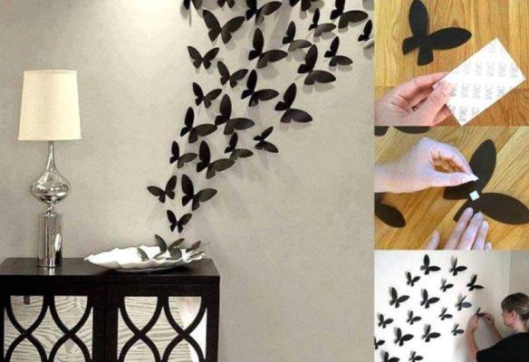 Hiasan Dinding Ruang Tamu dari Kertas