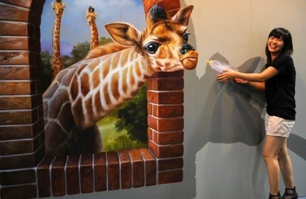 Kumpulan Gambar Lukisan Dinding Untuk Dekorasi