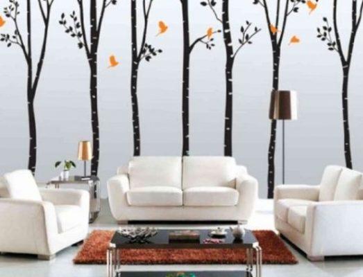 Lukisan Dinding Ruang Tamu Minimalis