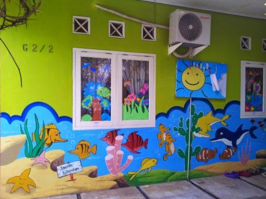 Lukisan Dinding Sekolah