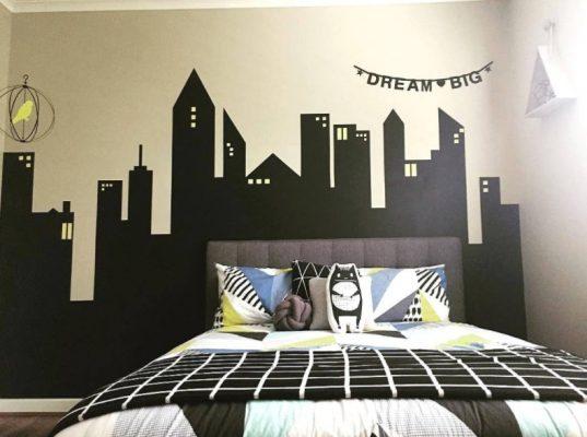 Lukisan Kamar Tidur Minimalis
