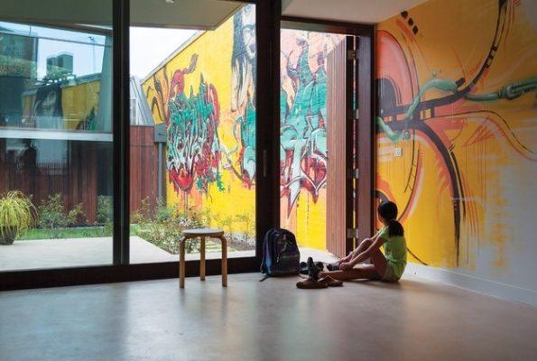 Lukisan Dinding 3D di Kantor